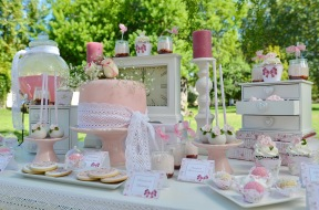 Baby shower romantico