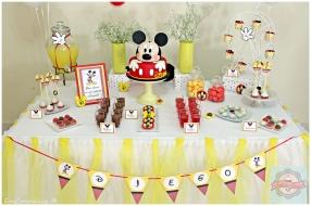 Mesa de doces mickey