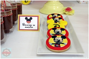Doces decorados Mickey