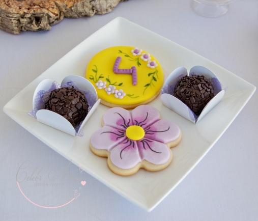 Rapunzel cookies